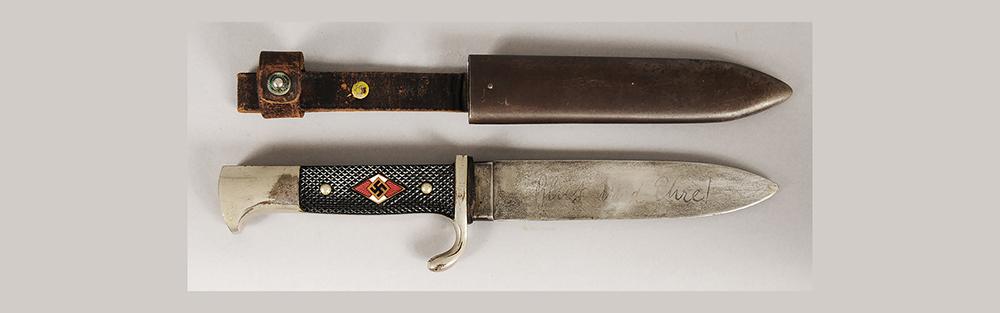 Nazi German WWII Hitler Youth Knife - $510