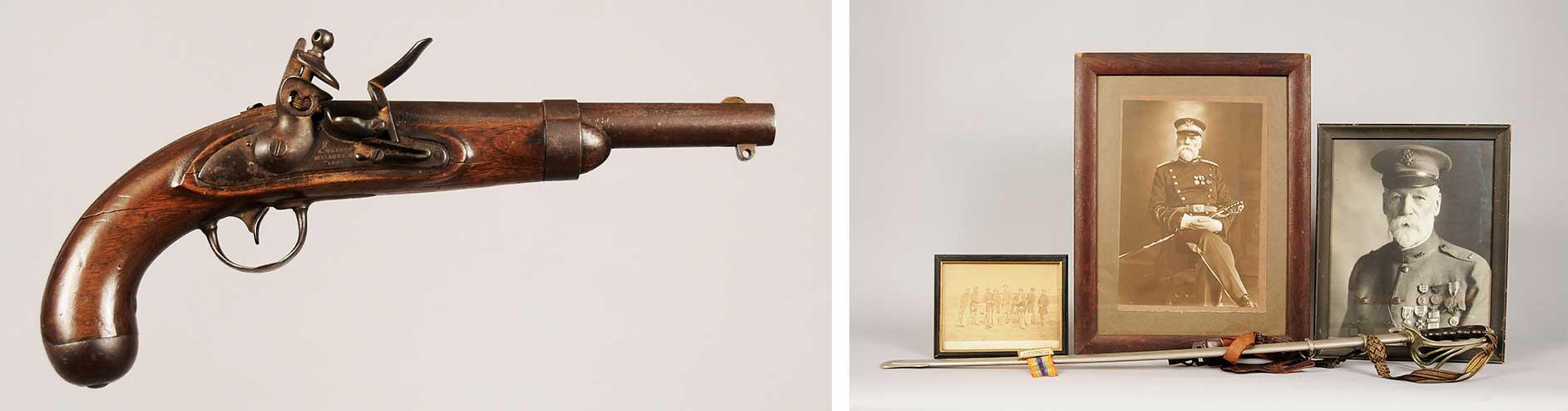 A. Waters Model 1836 Flintlock | Civil War Sword Owned by Lieut. W.N. Williams